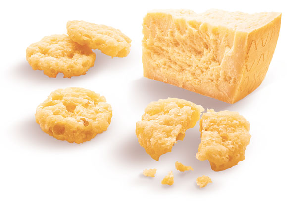 grana cheese snack