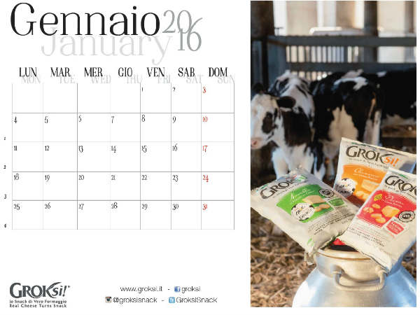 Calendario Groksì! 2016 Modificabile