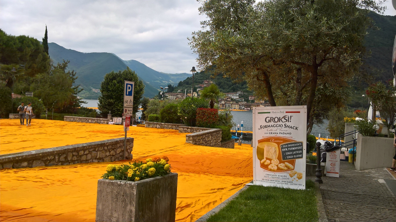 Groksì! è a The Floating Piers